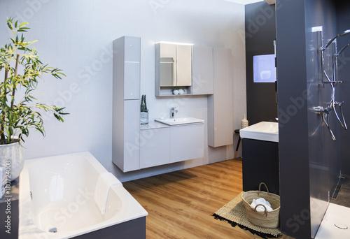 detail of bath room decoration