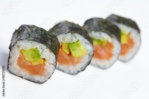 Keuken foto achterwand Sushi bar tasty sushi