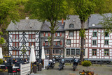Historic houses in Monschau, Germany