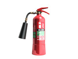 Carbon Dioxide Fire extinguisher 3d render on white background no shadow - 180735673