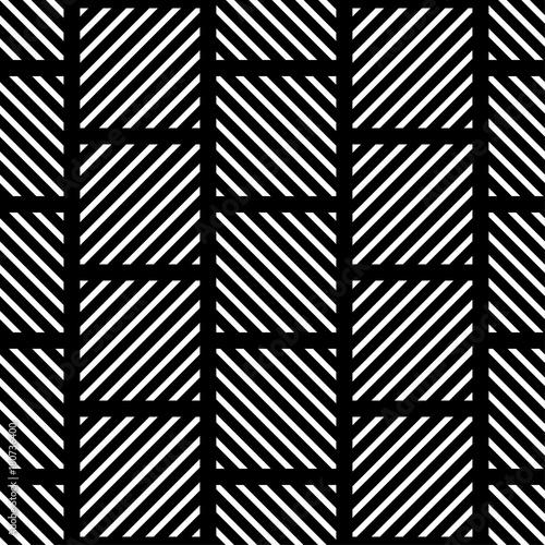 Fototapeta Seamless geometric background. The texture of the stripes. Textile rapport.