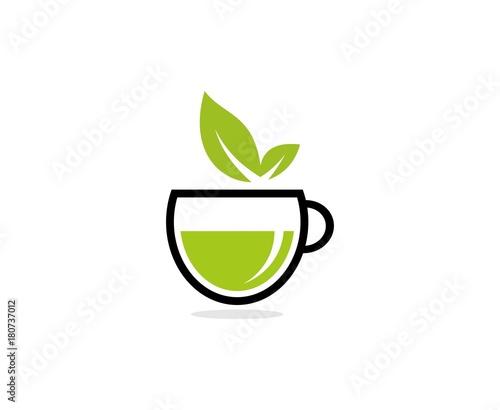 Fototapeta Tea logo