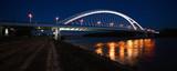 Apollo bridge by night