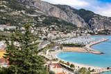 Mediterranean coast of France looking east