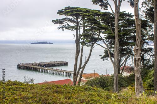 Plexiglas San Francisco Views of the San Francisco Bay from Fort Point, California