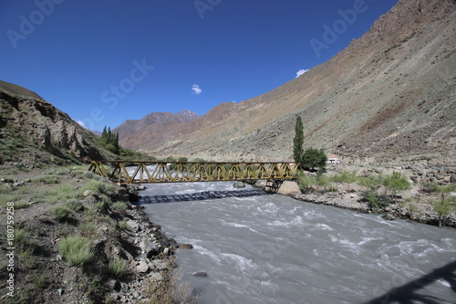 Foto op Canvas Grijs Indus River,Ladakh