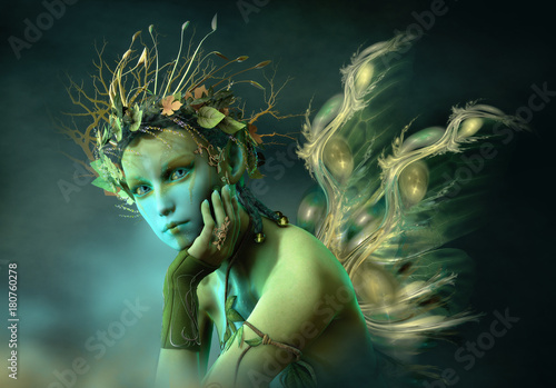 Little Forest Sylph, 3d CG © Atelier Sommerland