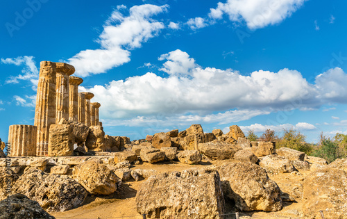 Foto op Plexiglas Cyprus Temple of Heracles at the Valley of the Temples in Agrigento, Sicily
