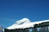 Winter ski mountains. Tyrol, Austria