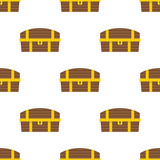 Chest pattern seamless flat style