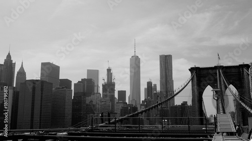 Plexiglas Chicago Brooklyn bridge New York
