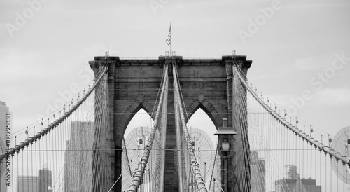 Deurstickers Brooklyn Bridge Brooklyn bridge New York