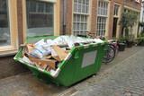 Loaded dumpster - 180801638