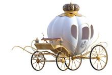 Beautiful Princess Carriage   3d Render Sticker
