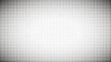 Abstract black and white dots background. Comic pop art style. Light effect. Gradient background with dots. - 180822886