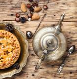 Appetizing pie for tea