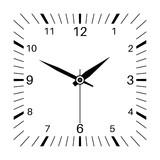 Clock. Square shaped clock - 180825087