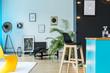 Colorful concept for loft