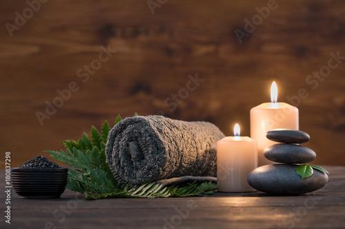 Spa treatment set