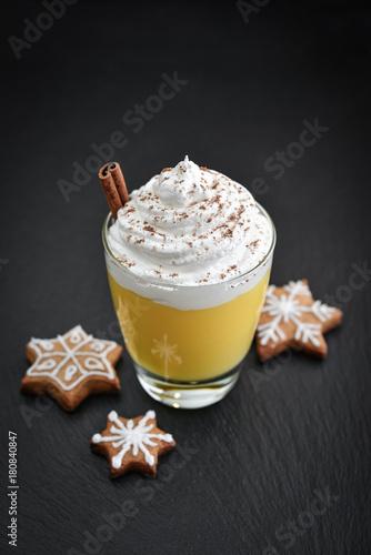 Christmas drink eggnog Poster
