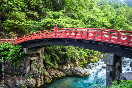 Sticker Shinkyo bridge, Nikko, Japan