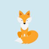 Cute red Fox - 180846879