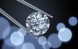 Diamant mit Lichtspiel - 180848457