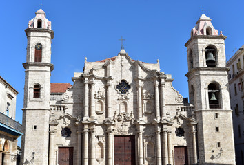Havana Cathedral, Cathedral of The Virgin Mary of the Immaculate Conception, Havana, Cuba
