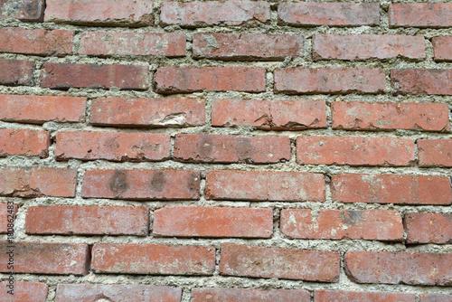 Deurstickers Baksteen muur Mur de briques