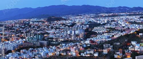 Staande foto Canarische Eilanden Panorama of Santa Cruz de Tenerife