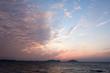 玄界灘の夕焼け