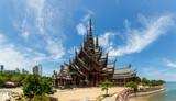 Sanktuarium Prawdy w Pattaya, Tajlandia