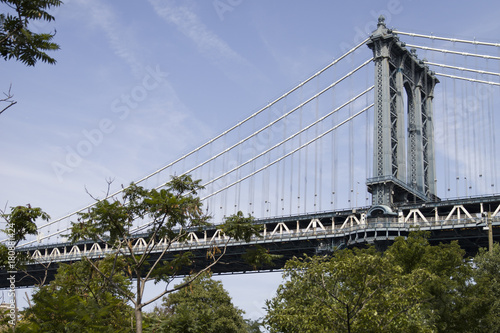 Papiers peints Ponts Manhattan Bridge in New York City