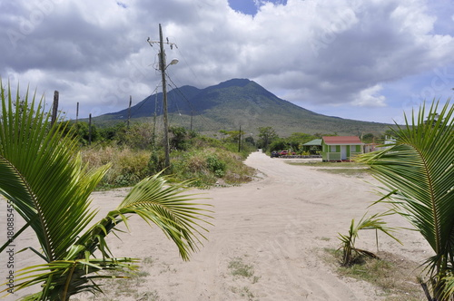Plexiglas Bleke violet Beach in Saint Kitts
