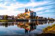 Leinwanddruck Bild - Albrechtsburg in Meißen, Sachen