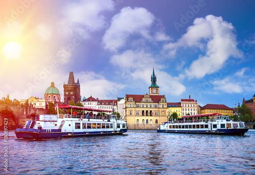 Papiers peints Prague Prague is the capital of the Czech Republic, the European state. Historical sights.