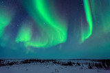 Northern Lights Above the Tundra