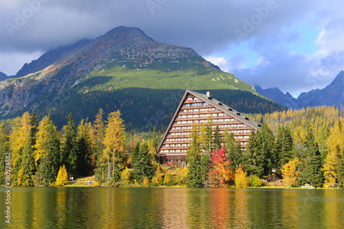 Foto op Aluminium Honing Autumn landscape