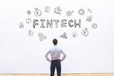 fintech concept - 180954271