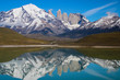 Perfect reflection of Torres del Paine