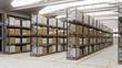 Lagerhalle als Depot für Waren