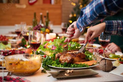 Festive dinner - 181031404