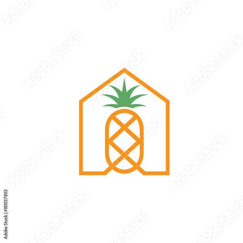 home pineapple logo - 181037803