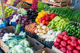 Fresh and organic vegetables at farmers market