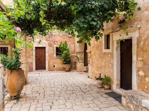 Fototapeta Arkadi Monastery, Crete, Greece