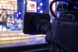 tv camera in a concert hall. - 181049857