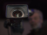 Professional digital video camera. cinematography in the pavilion - 181059846