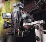 Professional digital video camera. cinematography in the pavilion - 181059853