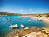 Summer Sea Landscape Boats