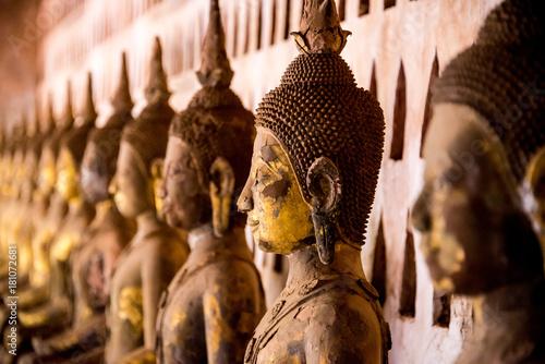 Staande foto Boeddha buddhist statues